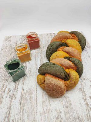Pan de trenza